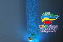 آبنما حبابدار استوانه ای (4)