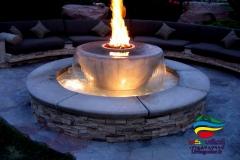 آبنما آب و آتش (3)