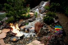 آبنما آب و آتش (5)