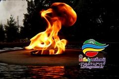 آبنما آب و آتش فضای باز (2)